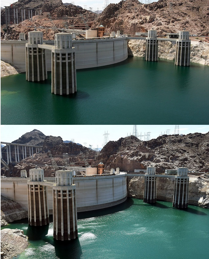 FilePIC Drought Hoover Dam 2007 2014jpg FilePIC Drought Hoover