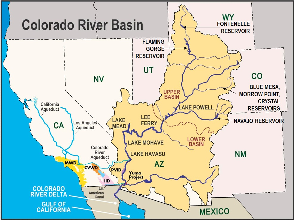File:Colorado River Basin- MAP- CRBC- Chris Harris.jpg ... on canadian columbia river dams map, wanapum dam columbia river on map, us dams and reservations map, snake river dams map, bonneville dam map,