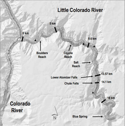 Little Colorado River LCR Projects  Glen Canyon Dam AMP